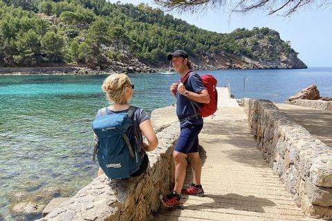 Wanderrast bei Sa Calobra auf Mallorca