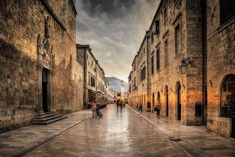 Dubrovnik old town - UNESCO world heritage