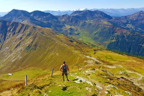 Bergpanorama Pinzgau