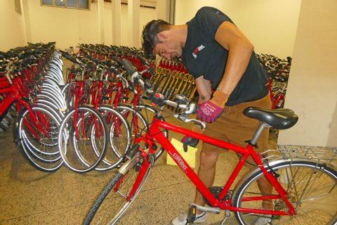Wartung und Hygiene für Eurobike Fahrräder