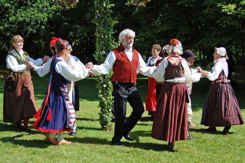 Midsommarfest in Schweden