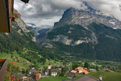 Traumhafte Landschaft in Grindelwald