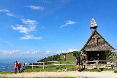 Beautiful view to the Chiemgau