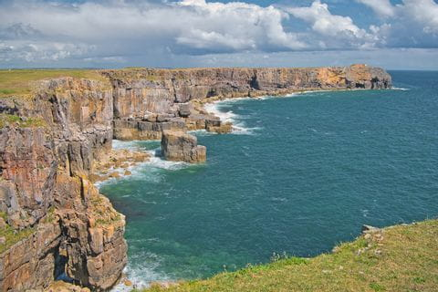 Stunning Cliffs in the Pembrokeshire Coast National Park