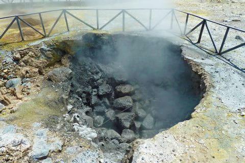 Heiße Quellen auf Sao Miguel