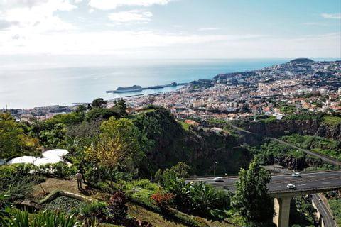 Ausblick auf das Meer auf Madeira