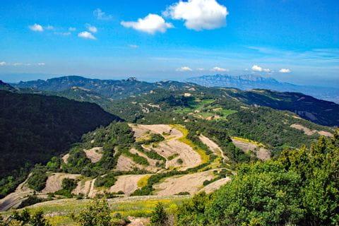 Unique hiking view in Catalonia