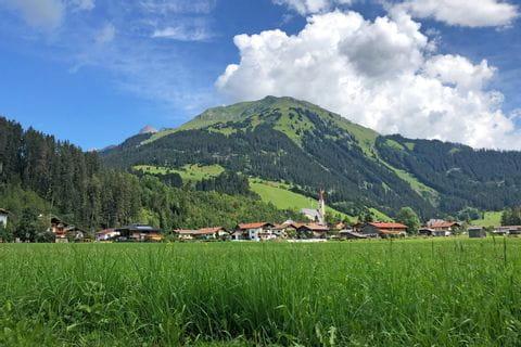 Scenic mountain villages along Lech walking trail