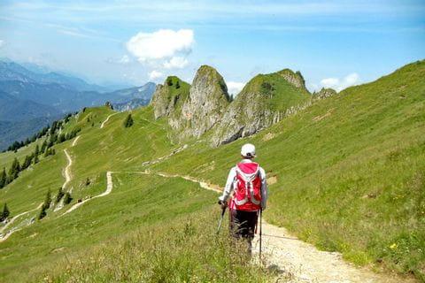Fascinating hiking paths on mountain Taubenstein