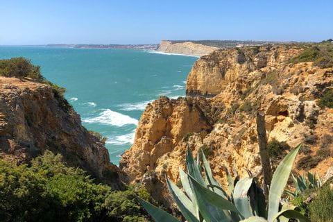 Küstenlandschaft an der Algarve