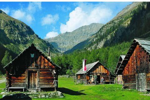 Traditional Lungau alpine cabins
