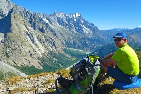 Impressive French mountainside