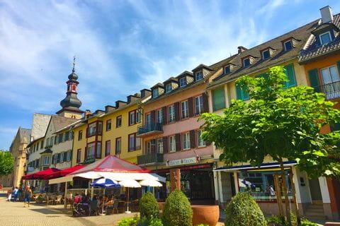 Liebliche Ortschaften am Rheinsteig durchwandern