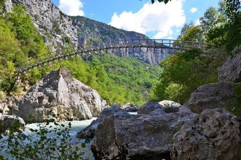 Brücke über dem Verdon