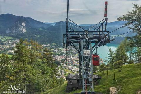 Zwölferhornbahn im Salzkammergut
