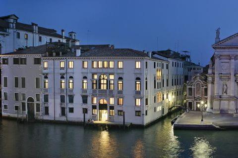 Aussenansicht des Hotel Palazzo Giovanelli in Venedig