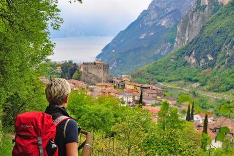 Gardasee Wanderpfad Riva