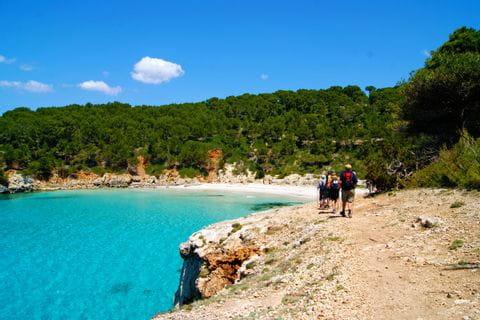 Costal paths in Menorca