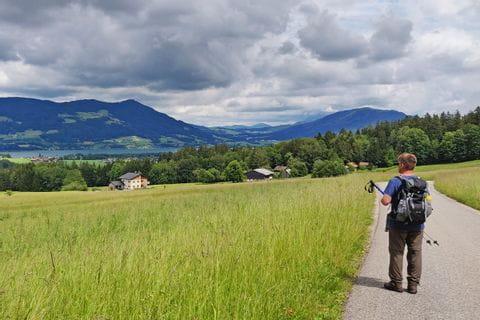 Frau und Herr Weinreich auf der Wanderreise Zehn-Seen Trekking