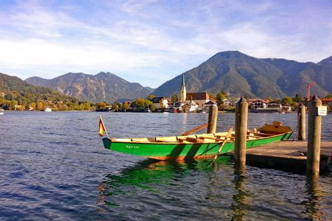 Legendary ferry ride on lake Tegernsee