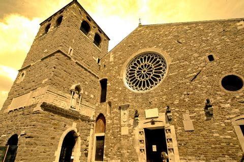 Kultur in Triest bei der Wandertour Alpe Adria Trail