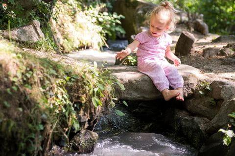 Wandern mit Kindern am Partschinser Waalweg