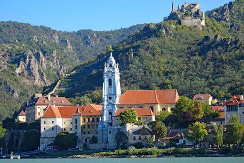 Panoramic view of Dürnstein