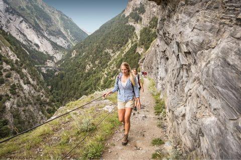 Wanderung auf der Lötschberger Südrampe