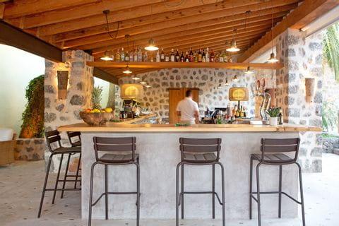 Idyllische Bar in Ihrem Hotel in Port de Soller