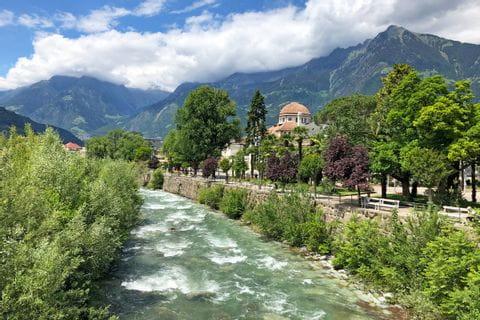 """Passer"" river near Merano"