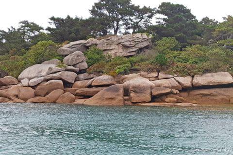 Bretagne Granitfelsen