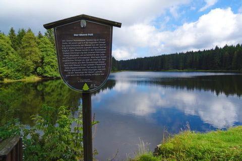 Toller Blick auf den oberen Nassenwieser Teich