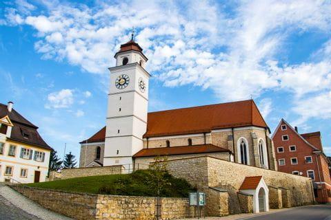 Kirche am Altmuehltal Panoramaweg