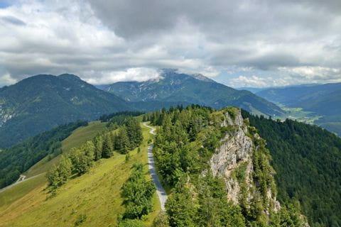 Kitzbuehel Jakobskreuz Buchensteinwand panorama