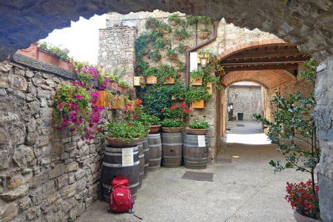 Impressionen von den alten Gassen in der Toskana