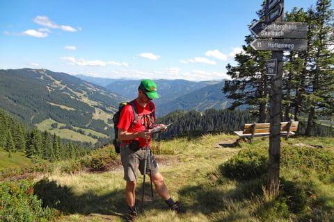 Stunning views from mountain Bernkogel