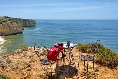 Wanderrast an der Algarve