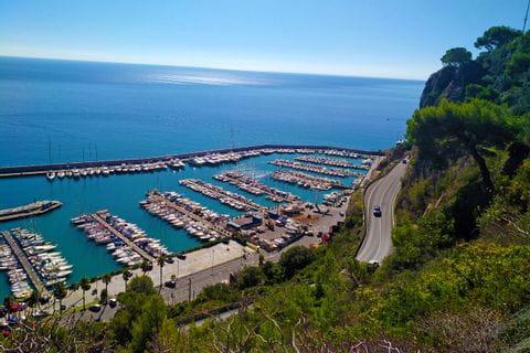 Hafen in Alassio