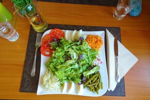 Salat in Palzem