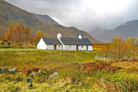 Blackrock Cottage am West Highland Way