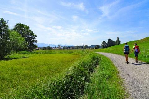 Traumhafter Wanderweg im Allgäu