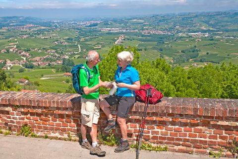Wanderer in Piemont