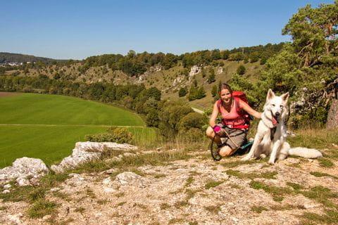 Wanderreise mit Hund im Altmuehltal