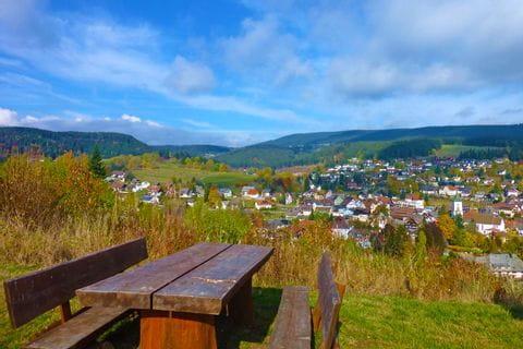 Hiking view at Lenzkirch