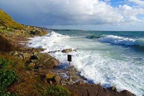 Panorama von der Küste Schwedens