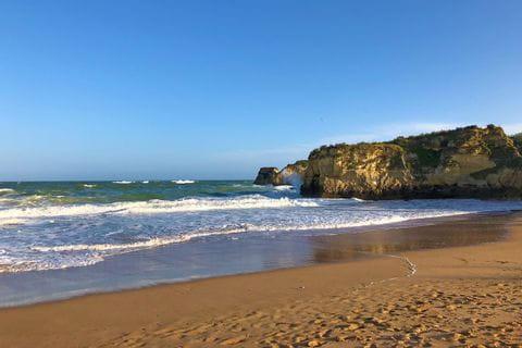 Wellengang an der Algarve