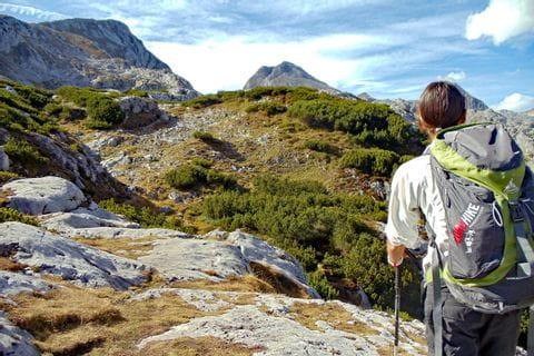 Trekking in the Dachstein area