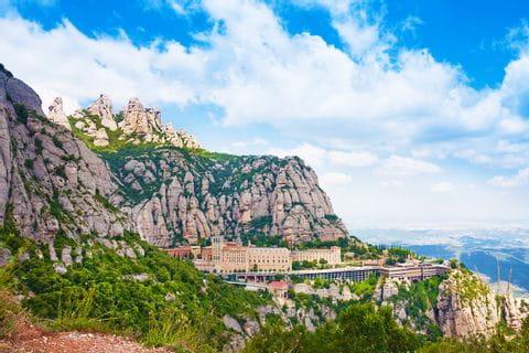 Montserrat in Catalonia