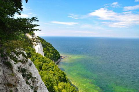 Traumhafte Kreideküste in Rügen