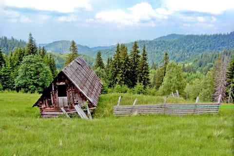 Charming countryside in Transylvania